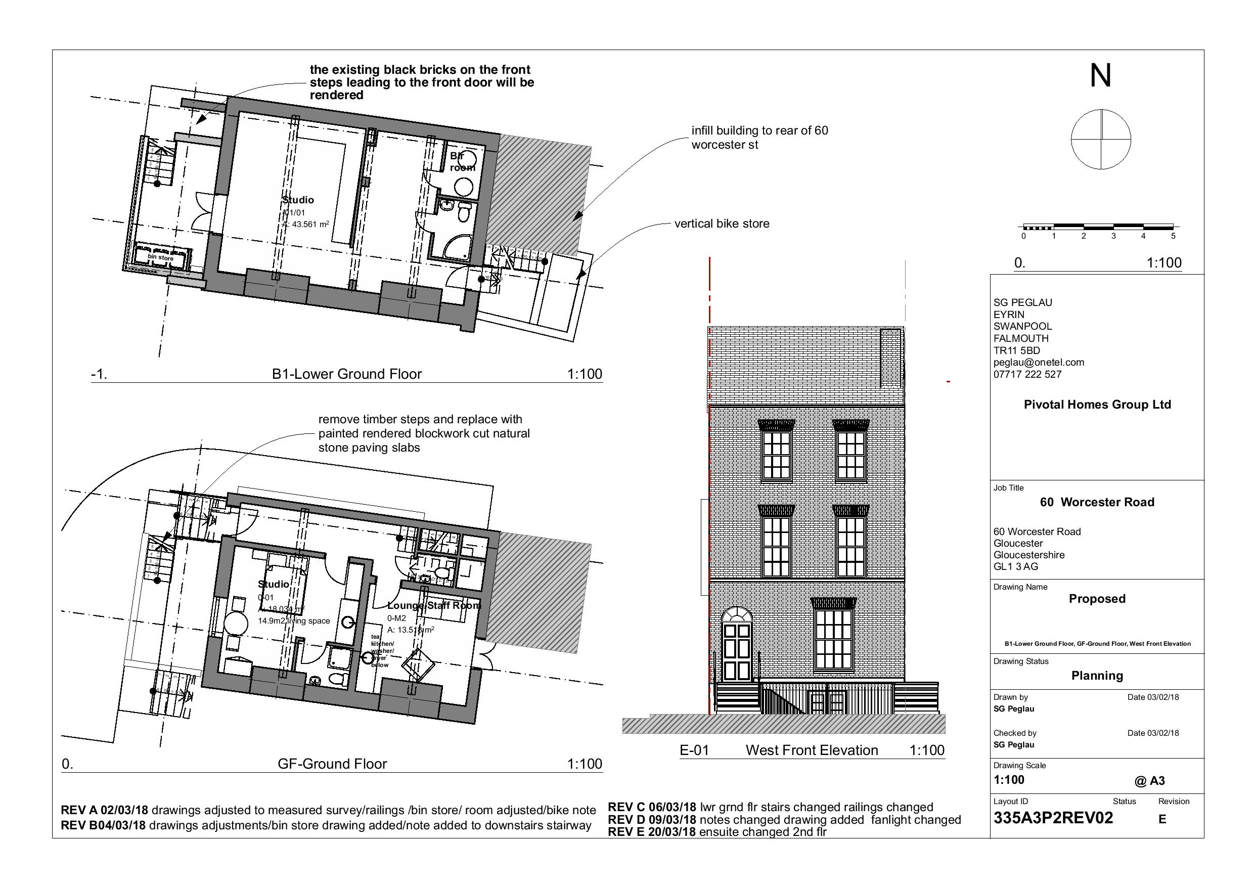 Planning Permission and listed building consent Gloucester