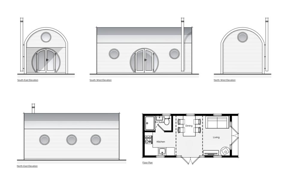 Mezzanine Pod Ancillary Building in Cheltenham
