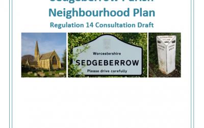 Neighbourhood Planning:Pre-submission Regulation 14 Consultation for the Sedgeberrow Neighbourhood Plan